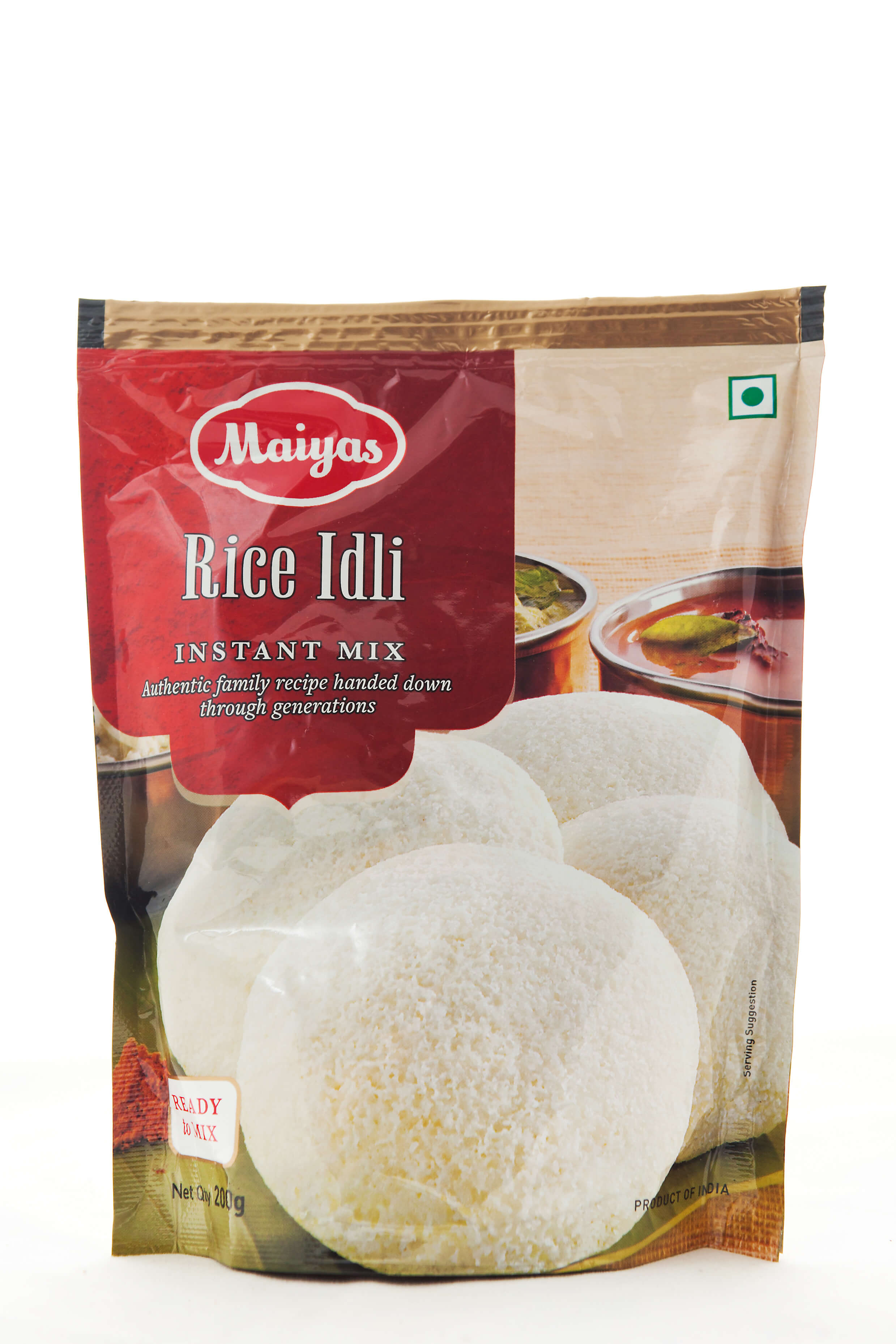 RICE IDLI MIX 200g/РАЙС ИДЛИ МИКС 200 г